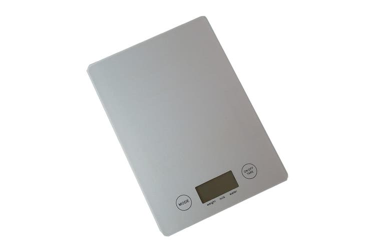 5kg/1g Kitchen Digital Scale LCD Electronic Balance Food Weight Postal Scales silver