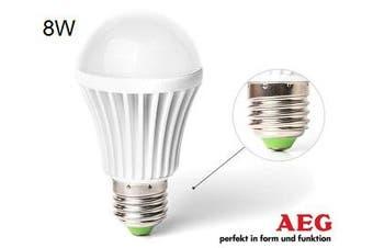 AEG LED Screw E27 Warm White 8w 70W Light Globe/Lightbulb Lamp Bulb 900 Lumen