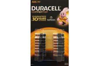 Duracell duralock Alkaline Batteries AAA 30 pack