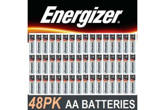 Energizer Max Alkaline Batteries AA 48 pack