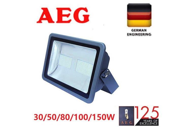AEG LED Weatherproof Flood Light Kit 150W