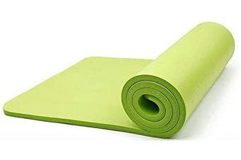 15MM Thick Yoga Mat Non Slip Durable Exercise Fitness Gym Mat Lose Weight Pad lime