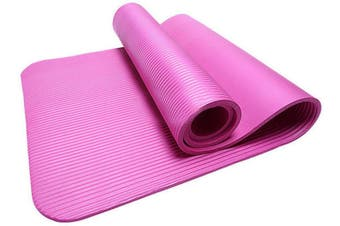 15MM Thick Yoga Mat Non Slip Durable Exercise Fitness Gym Mat Lose Weight Pad pink