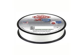 Berkley X9 Braided Fishing Line 300M Spool 9.1Kilo/20lb Crystal White