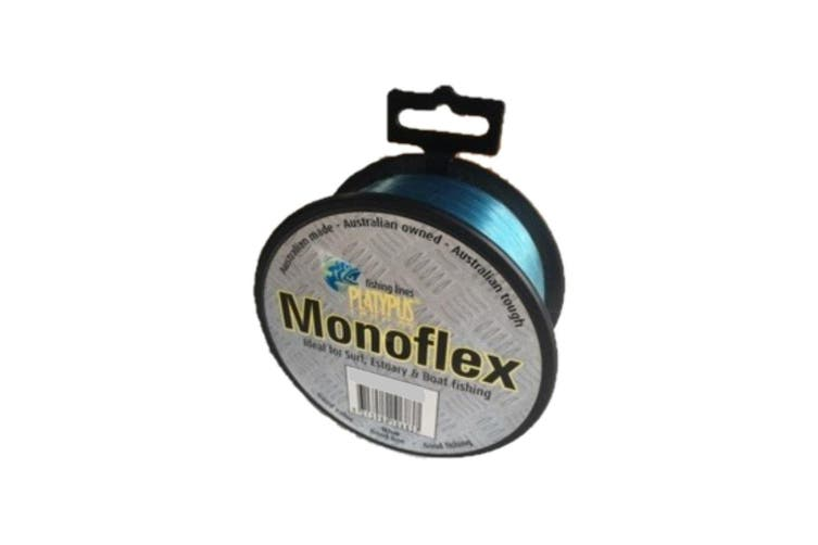 100m Spool of 100lb Blue Platypus Monoflex Mono Fishing Line - Australian Made Line