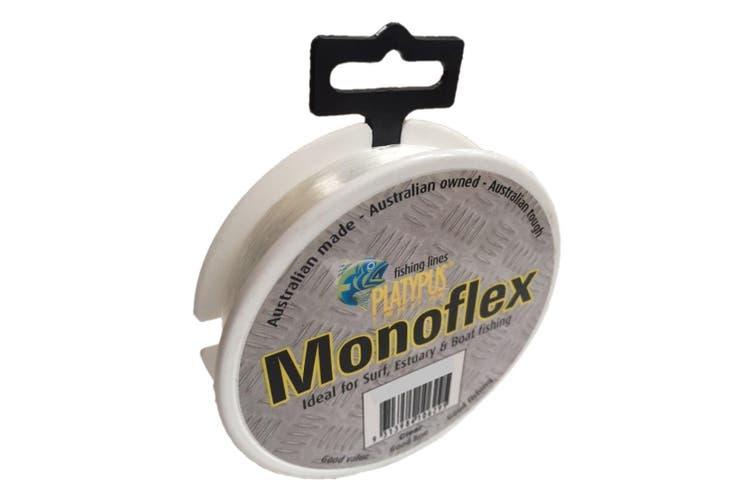 100m Spool of 10lb Clear Platypus Monoflex Mono Fishing Line - Australian Made Line