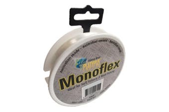 100m Spool of 25lb Clear Platypus Monoflex Mono Fishing Line - Australian Made Line