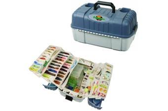 Flambeau 2059 Seven Tray Hip Roof Tackle Box - 7 Tray Fishing Tackle Box
