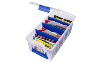Flambeau 4510 Soft Plastics Fishing Lure Box with Zerust - Soft Bait Tackle Box