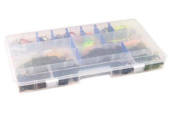 Flambeau Tuff Tainer 6004R Fishing Tackle Tray with Zerust Dividers