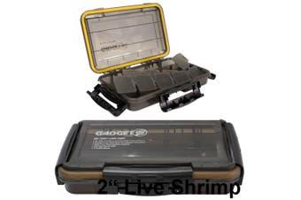 Zerek Gadget Z Small Waterproof Fishing Tackle Tray -Air Tight Tackle Box