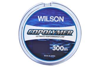 300m Spool of Blue Wilson Copolymer Fishing Line [Breaking Strain: 8lb]