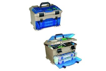 Flambeau T5P Multiloader Tackle Box With 6 Tackle Trays & Zerust Dividers