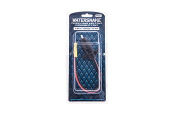Watersnake Male 12 Volt Trolling Motor Connector - 2 Wire - 10 Gauge Wire