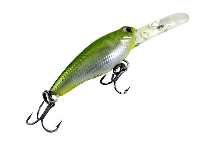Zerek Tango Shad - 50mm - Aa Colour - 4g Floating, Diving Depth-Up To 1.6 Metres