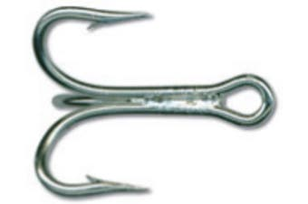 Mustad 7794ds Size 4/0 Qty 25 3x Strong Treble Hooks - Duratin