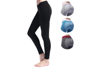 SEMATH Women Sports Running Fitness Gym Yoga legging Black