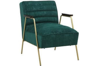 BELLEMOSA Accent Chair Furniture Sofa Seat Lounge Velvet Armchair for Bedroom, Living Room, Entryway, Office Beige Green