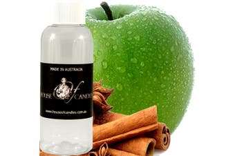 APPLE SPICE & CINNAMON Diffuser Fragrance Oil Refill BONUS Free Reeds