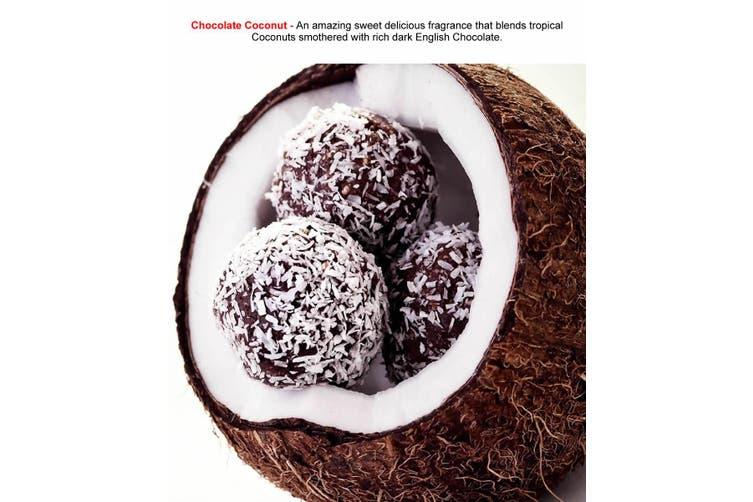 CHOCOLATE COCONUT Diffuser Fragrance Oil Refill BONUS Free Reeds