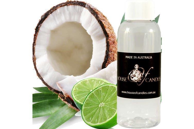 COCONUT & LIME Diffuser Fragrance Oil Refill BONUS Free Reeds
