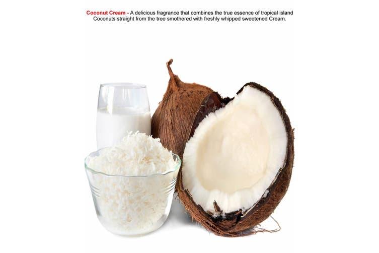 COCONUT CREAM Diffuser Fragrance Oil Refill BONUS Free Reeds