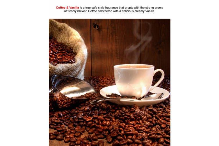COFFEE & VANILLA Diffuser Fragrance Oil Refill BONUS Free Reeds