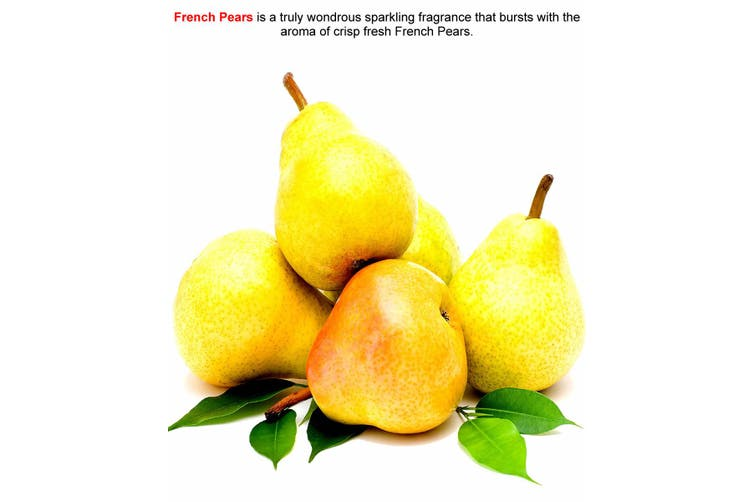 FRENCH PEARS Diffuser Fragrance Oil Refill BONUS Free Reeds