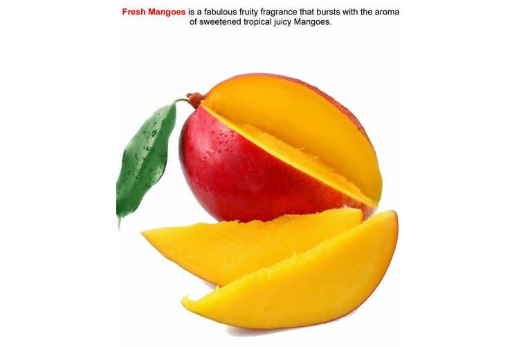 FRESH MANGOES Diffuser Fragrance Oil Refill BONUS Free Reeds