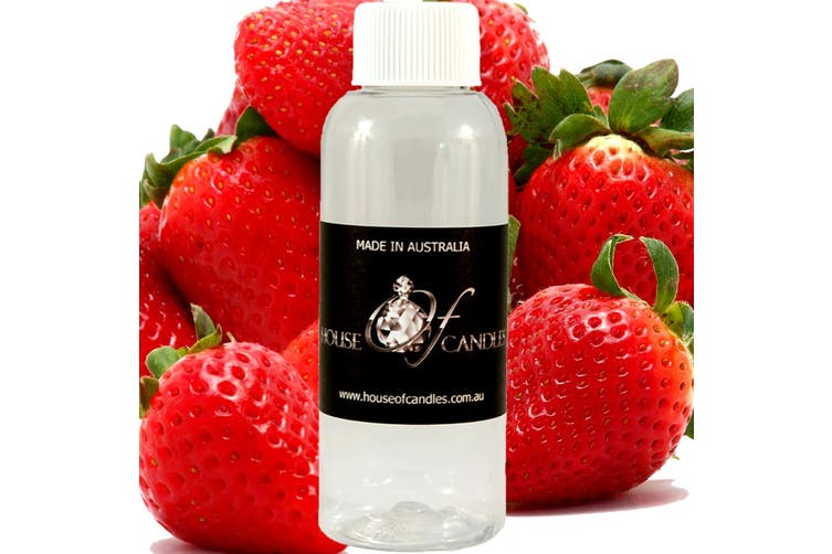 FRESH STRAWBERRIES Diffuser Fragrance Oil Refill BONUS Free Reeds