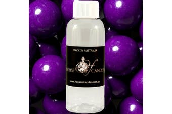 GRAPE BUBBLEGUM Diffuser Fragrance Oil Refill BONUS Free Reeds