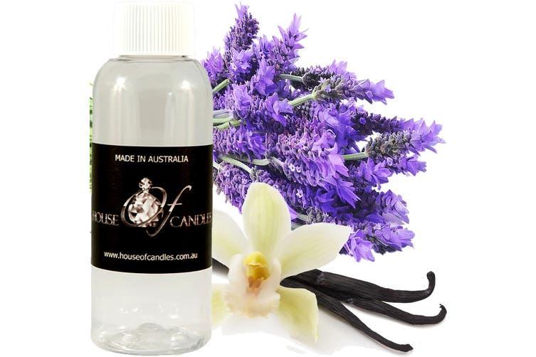 LAVENDER & VANILLA Diffuser Fragrance Oil Refill BONUS Free Reeds