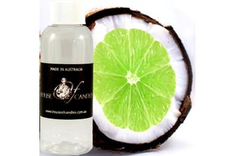 TAHITIAN COCONUT LIME Diffuser Fragrance Oil Refill BONUS Free Reeds