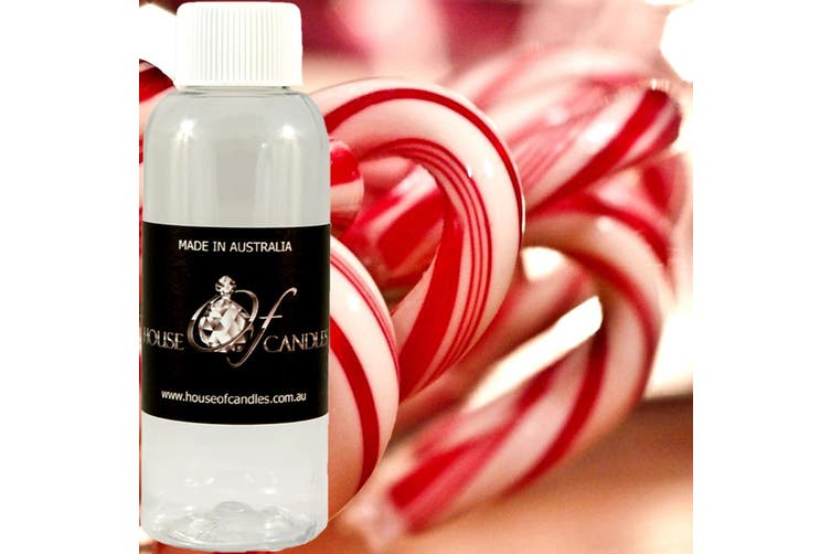 CANDY CANE Diffuser Fragrance Oil Refill BONUS Free Reeds