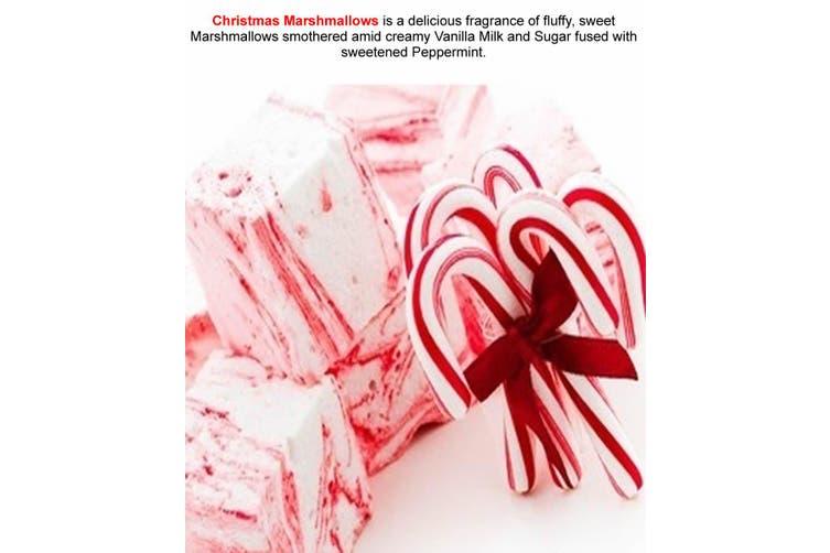 CHRISTMAS MARSHMALLOWS Diffuser Fragrance Oil Refill BONUS Free Reeds