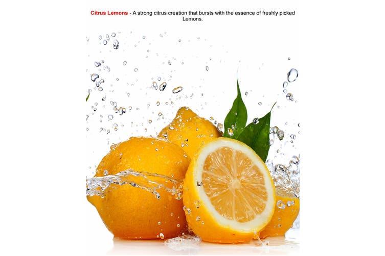 CITRUS LEMONS Diffuser Fragrance Oil Refill BONUS Free Reeds