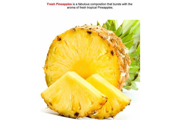 FRESH PINEAPPLES Diffuser Fragrance Oil Refill BONUS Free Reeds