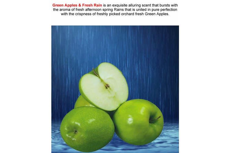 GREEN APPLES & FRESH RAIN Diffuser Fragrance Oil Refill BONUS Free Reeds