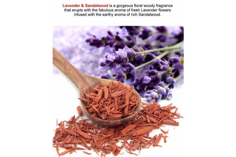 LAVENDER & SANDALWOOD Diffuser Fragrance Oil Refill BONUS Free Reeds