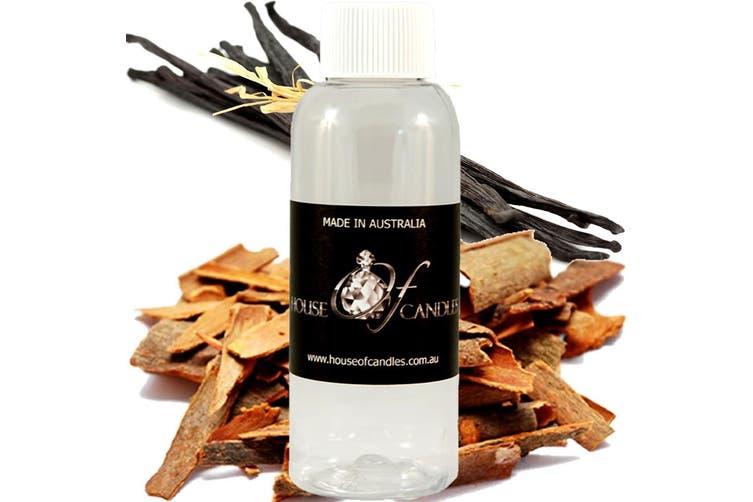 SANDALWOOD VANILLA Diffuser Fragrance Oil Refill BONUS Free Reeds