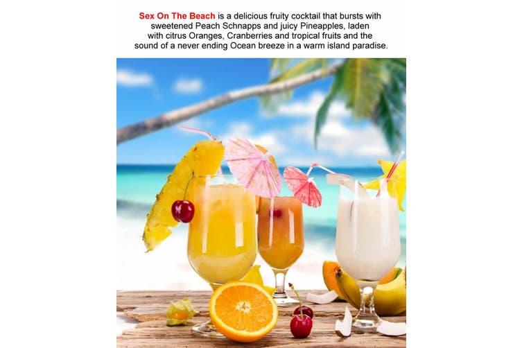 SEX ON THE BEACH Diffuser Fragrance Oil Refill BONUS Free Reeds