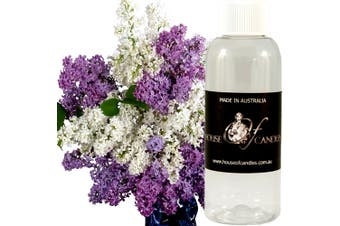 WHITE LILAC & LAVENDER Diffuser Fragrance Oil Refill BONUS Free Reeds