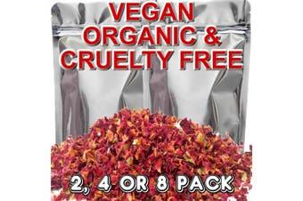 AUSTRALIAN SANDALWOOD ROSE Scented Organic Potpourri Sachets
