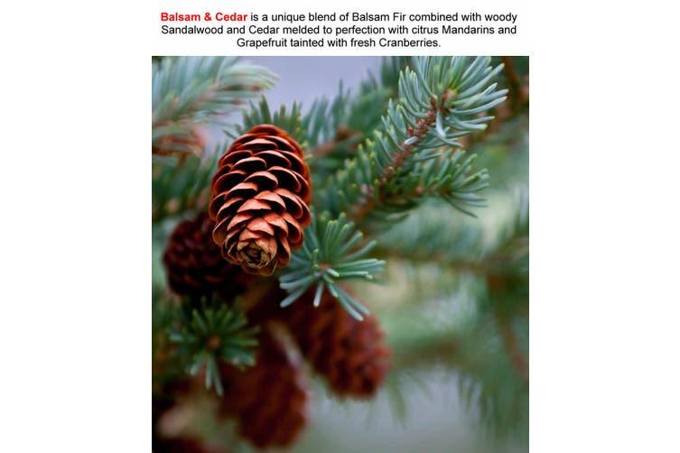 BALSAM & CEDAR Diffuser Fragrance Oil Refill BONUS Free Reeds