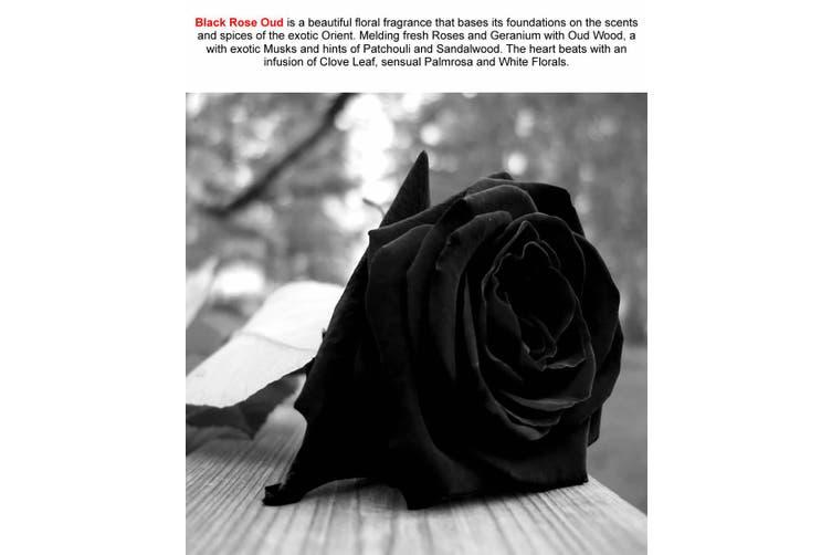 BLACK ROSE & OUD Diffuser Fragrance Oil Refill BONUS Free Reeds