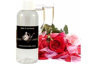 CHAMPAGNE & ROSES Diffuser Fragrance Oil Refill BONUS Free Reeds