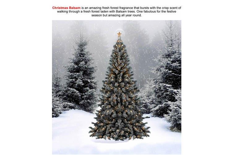 CHRISTMAS BALSAM Diffuser Fragrance Oil Refill BONUS Free Reeds