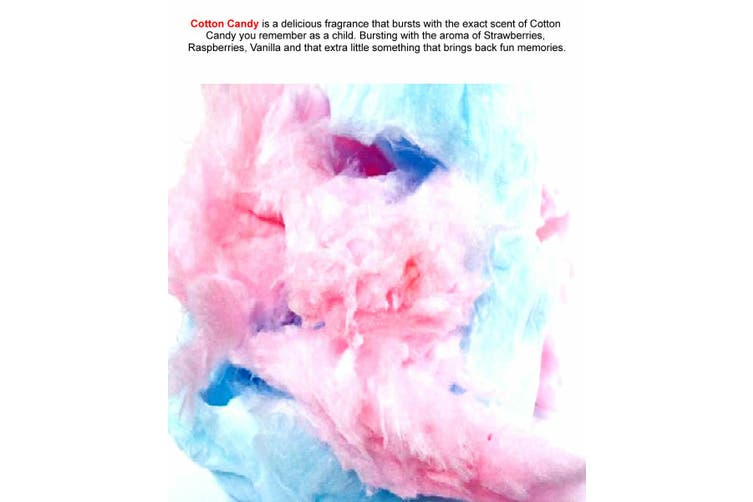 COTTON CANDY Diffuser Fragrance Oil Refill BONUS Free Reeds
