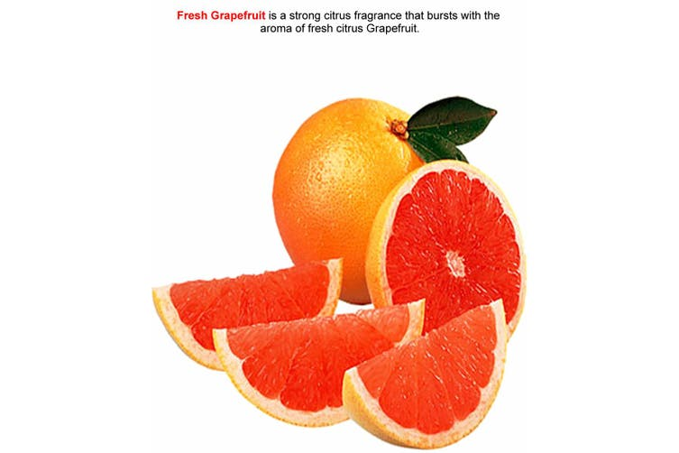 FRESH GRAPEFRUIT Diffuser Fragrance Oil Refill BONUS Free Reeds