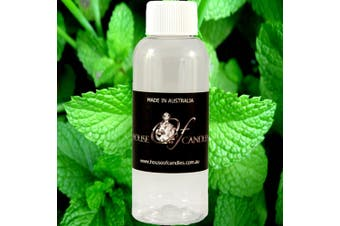 FRESH PEPPERMINT Diffuser Fragrance Oil Refill BONUS Free Reeds